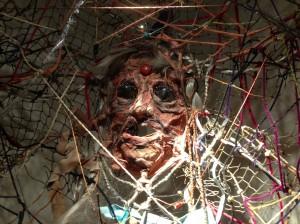 Grandmother Spiderwoman Mask by Michael Sylvan Robinson (2004)