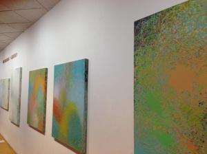 Greg Minah's Shifting Ground exhibition at Goucher College's Rosenberg Gallery