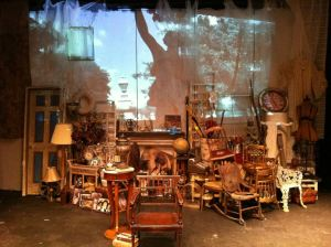 Set from Owl Gate Theatre's production of